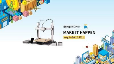 Quinto aniversario de Snapmaker: hazlo realidad (PRNewsfoto/Shenzhen Snapmaker Technologies Co., Ltd.)